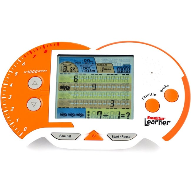 Franklin Racin' Mathematics Handheld Game - Thumbnail 0