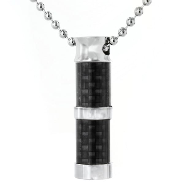 Stainless Steel Cylinder Necklace