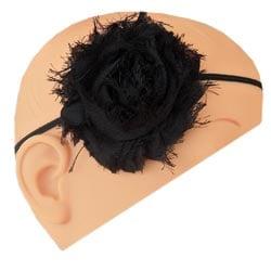 Shabby Chic Chiffon Flower Headband - Thumbnail 1