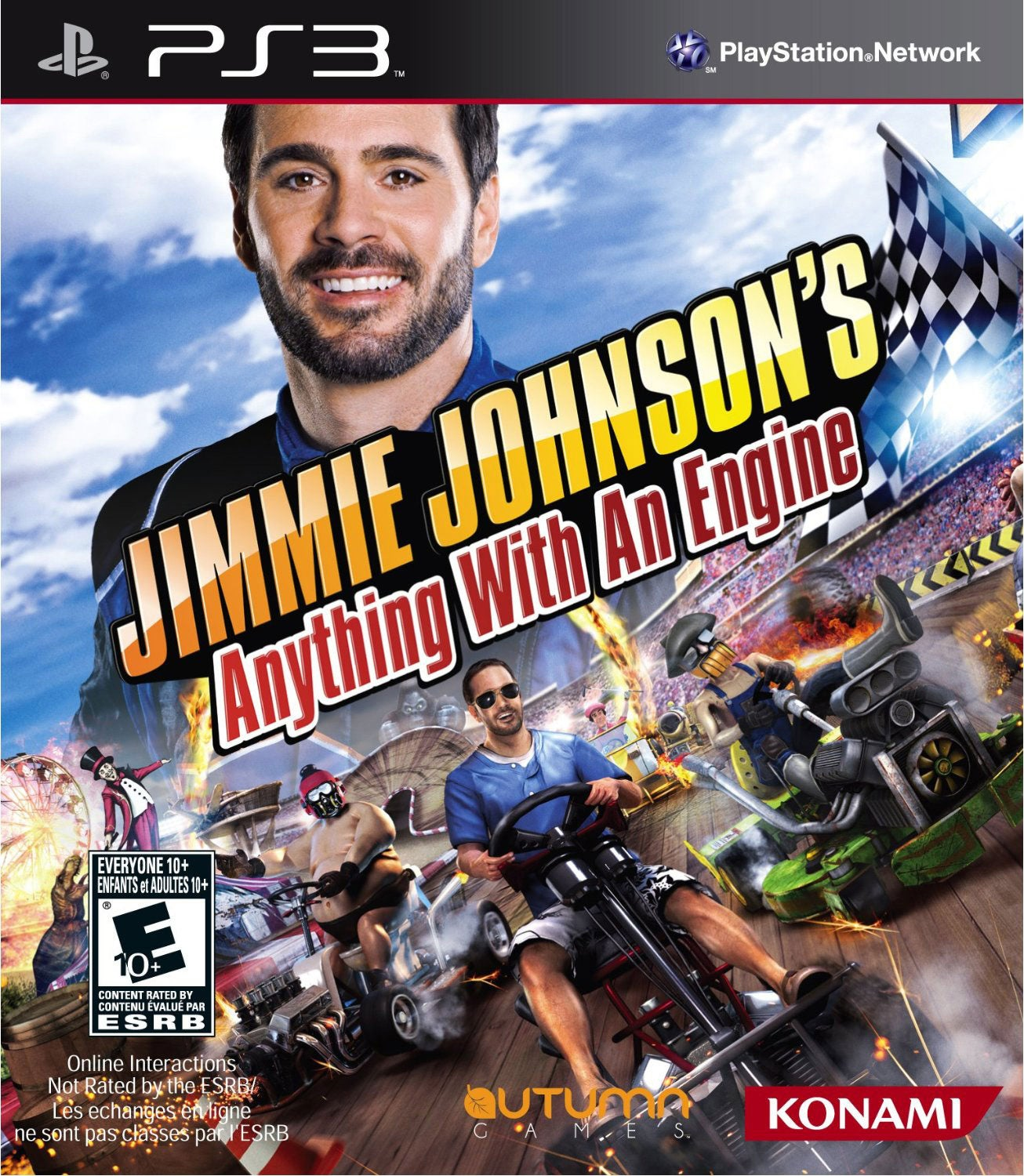 PS3 - Jimmie Johnson: Anything with an Engine