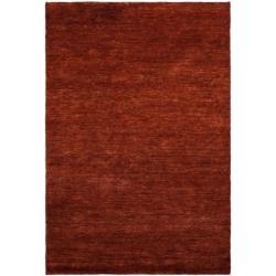 Safavieh Hand-knotted Solo Rust Hemp Rug (6' x 9')