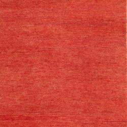 Safavieh Hand-knotted Gabeh Blocks Red Wool Rug (4' x 6') - Thumbnail 2