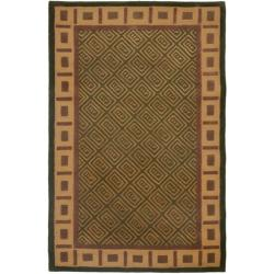 Safavieh Handmade Passage Green Wool Rug - 8' x 10' - Thumbnail 0