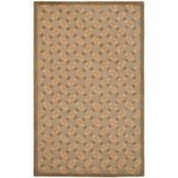 Safavieh Handmade Trellis Sage Wool Rug - 8' x 10'