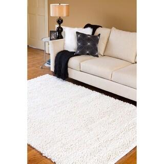 Hand-woven Jefferson Wool Rug (5' x 8')