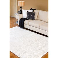 Hand-woven Jefferson Wool Area Rug (8' x 10'6)