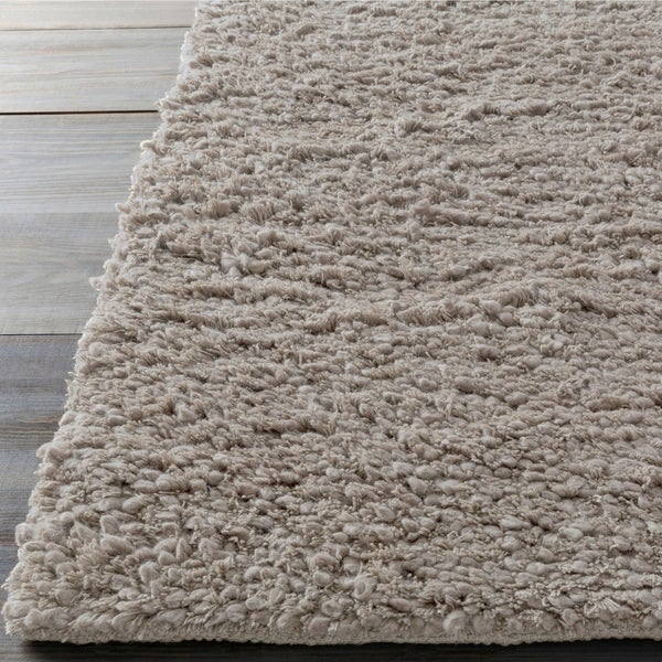 Hand-woven Bush Wool Area Rug - 8' x 10'6