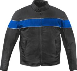 Mossi Men's 'Excursion' Motorcycle Jacket - Thumbnail 1