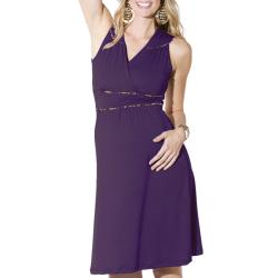 Lilac Clothing's Womens Maternity Katherine Dress in Plum - Thumbnail 1