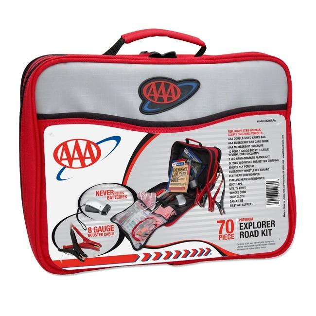 AAA Explorer 70-piece Road Kit
