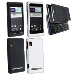 3-piece Case/ Screen Protector Set for Motorola Droid 2 Global
