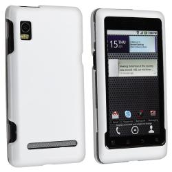 3-piece Case/ Screen Protector Set for Motorola Droid 2 Global |  Overstock com Shopping - The Best Deals on Accessory Bundles