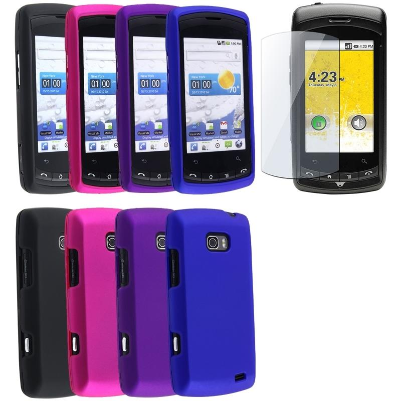 5-piece Case/ Screen Protector for LG Ally VS740