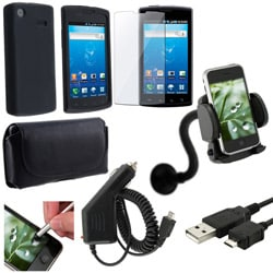 7-piece Case/ Charger/ Stylus/ Holder for Samsung Captivate i897