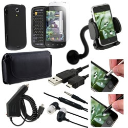 9-piece Case/ Headset/ Charger/ Stylus/ Holder for Samsung Epic 4G - Thumbnail 1