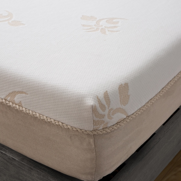 grande hotel collection posture support 8inch queensize memory foam mattress free shipping today