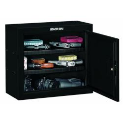 Stack-On Steel 2-shelf Pistol/ Ammo Cabinet Gun Safe