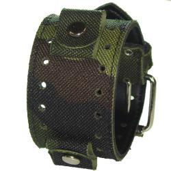 Nemesis Camouflage Canvas Basic Watch Band