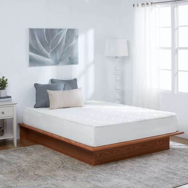 Full Size Euro Top 10 Inch Medium Firm Memory Foam