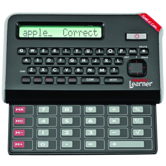 LRL-200 Webster's Spell Check and Calculator