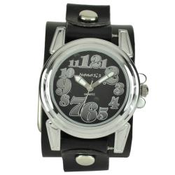 Nemesis Women's Trendy Oversized Leather Watch