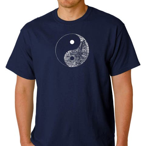 Los Angeles Pop Art Men's Yin Yang Shirt