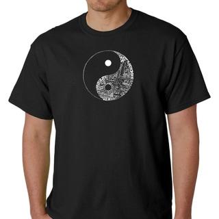 Los Angeles Pop Art Men's Yin Yang Shirt (Option: 2xl)