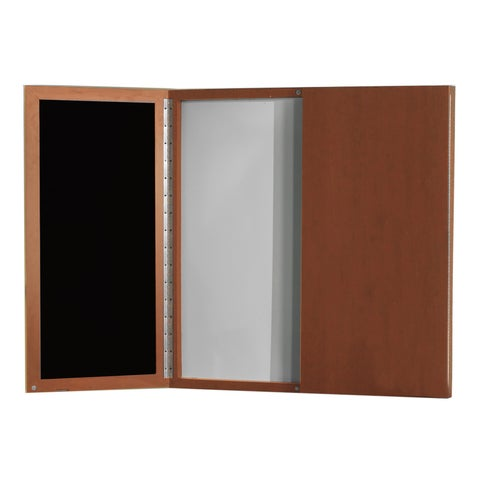 Mayline Aberdeen/Sterling Visual Presentation Board with Dry Erase Center Panel - N/A