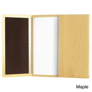 Mayline Aberdeen/Sterling Visual Presentation Board with Dry Erase Center Panel
