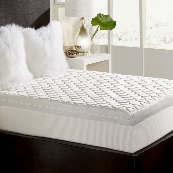 mattress of ultimate visco product bedding bath memory inch touch topper foam comfort overstock