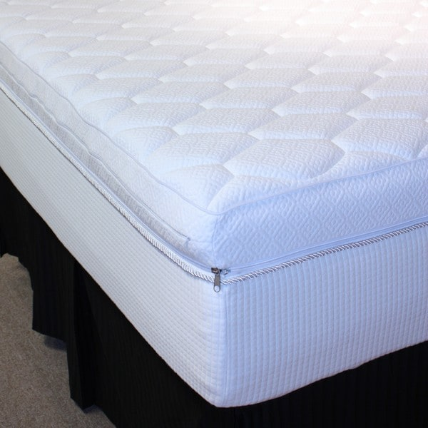Pure Rest  Reversible Top 12-inch Full-size Memory Foam Mattress