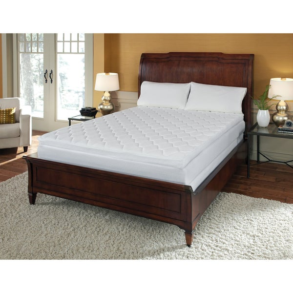 Pillow top 12 inch california king size memory foam for California king pillows