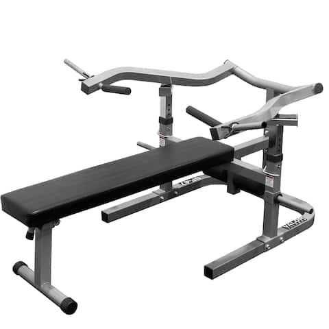 Valor Fitness BF-47 Independent Bench Press - Black