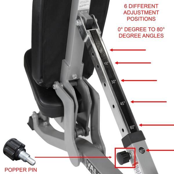 Pleasing Shop Valor Fitness Dd 11 High Tech Utility Workout Bench Dailytribune Chair Design For Home Dailytribuneorg