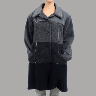 Women's Plus Size Messina Short Wool Coat