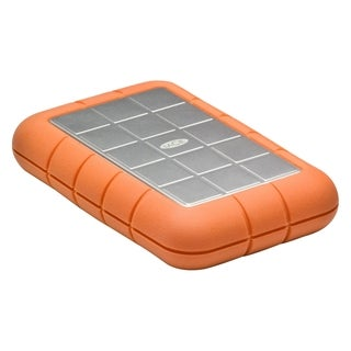 "LaCie Rugged Triple 301983 500 GB 2.5"" External Hard Drive"