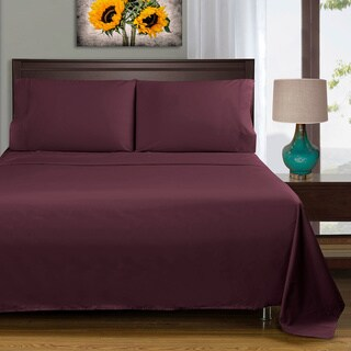 400 Thread Count Deep Pocket Cotton Sateen Sheet Set (More options available)
