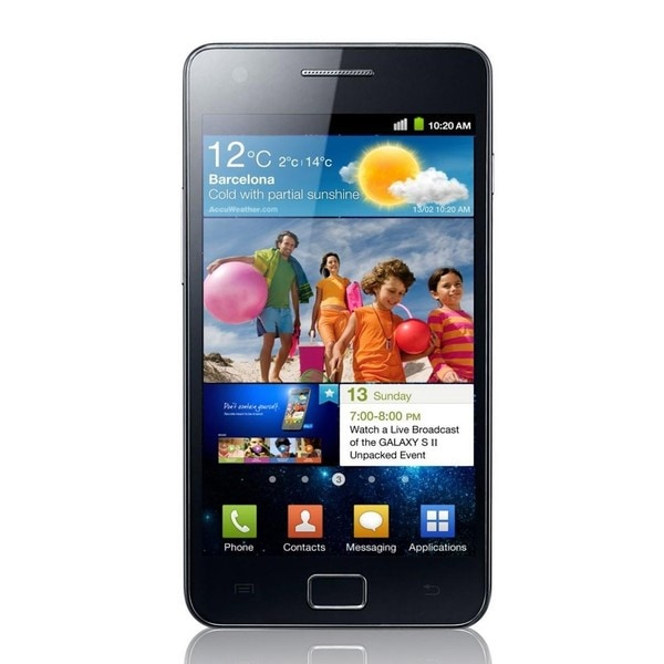 Samsung Galaxy S2 I9100 Unlocked GSM Android Cell Phone - Black