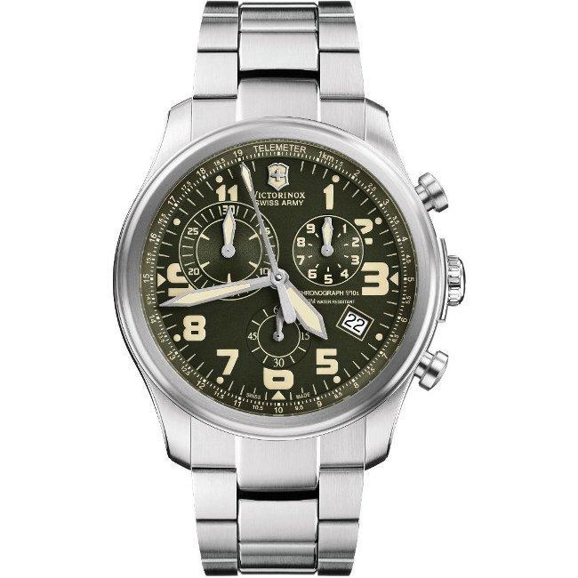 Swiss Army Men's 'Infantry' Vintage Chrono Watch