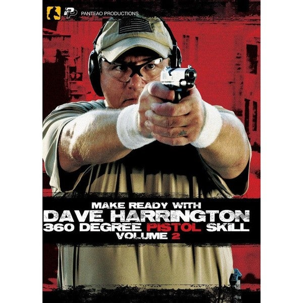 Make Ready with Dave Harrington: 360 Degree Pistol Skill Vol 2 DVD