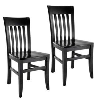 Jacob Slat-back Dining Chairs (Set of 2)
