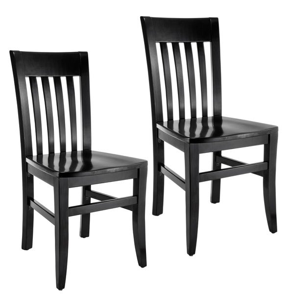 Slat Back Chairs jacob slat-back dining chairs (set of 2) - free shipping today
