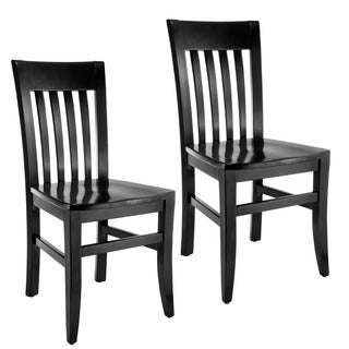 Jacob Slat-back Dining Chairs (Set of 2)