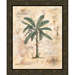 Justin Coopersmith 'Palm II' Framed Print Art