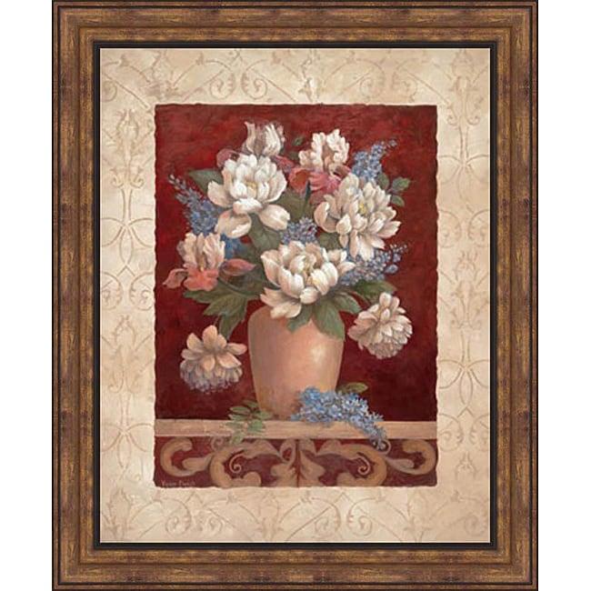 Vivian Flasch Arlene S Bouquet I Framed Print Art