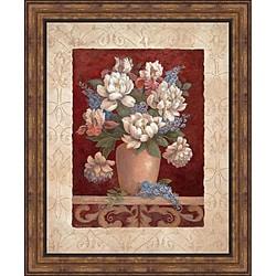 Vivian Flasch 'Arlene's Bouquet I' Framed Print Art - Multi - Thumbnail 0