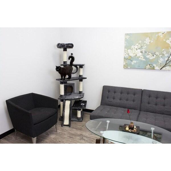 Kitty Mansions Shanghai Cat Tree Condo