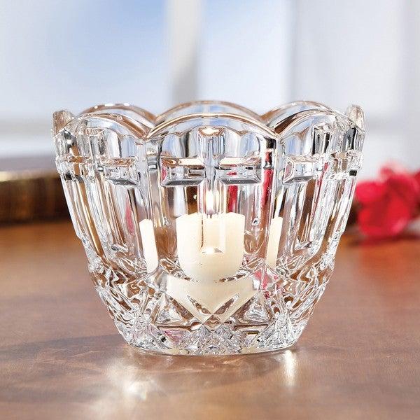 Fifth Avenue Crystal Devotion Bowl/ Votive Holder