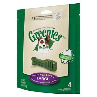 Greenies Large Dog Treat Pak