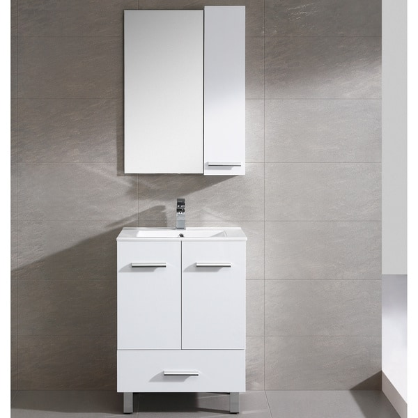 Fine Fixtures Atwood 23 Inch White Vanity